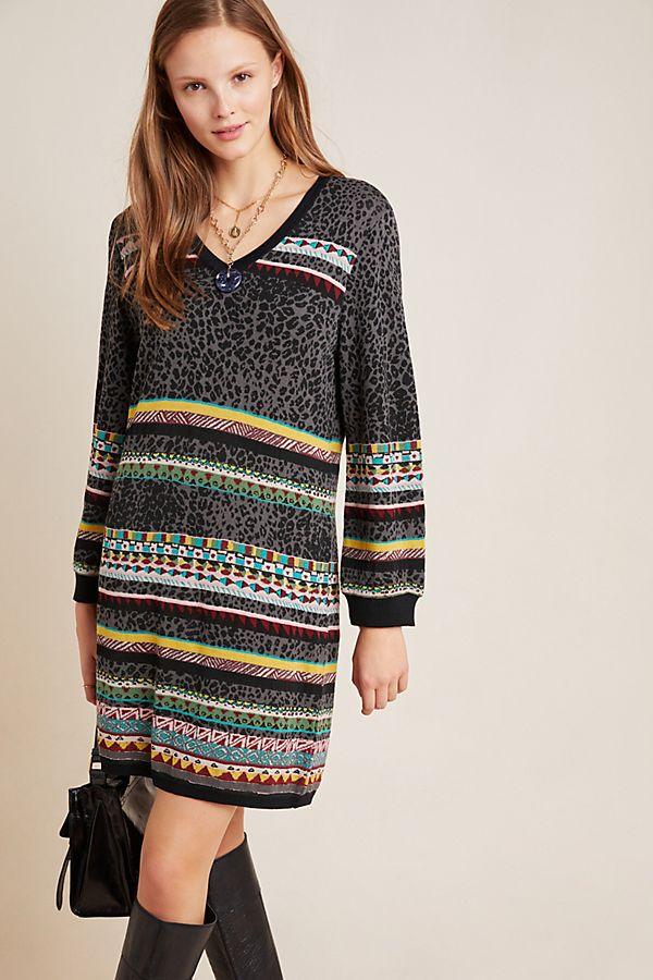 Slide View: 1: Viviana Sweater Dress