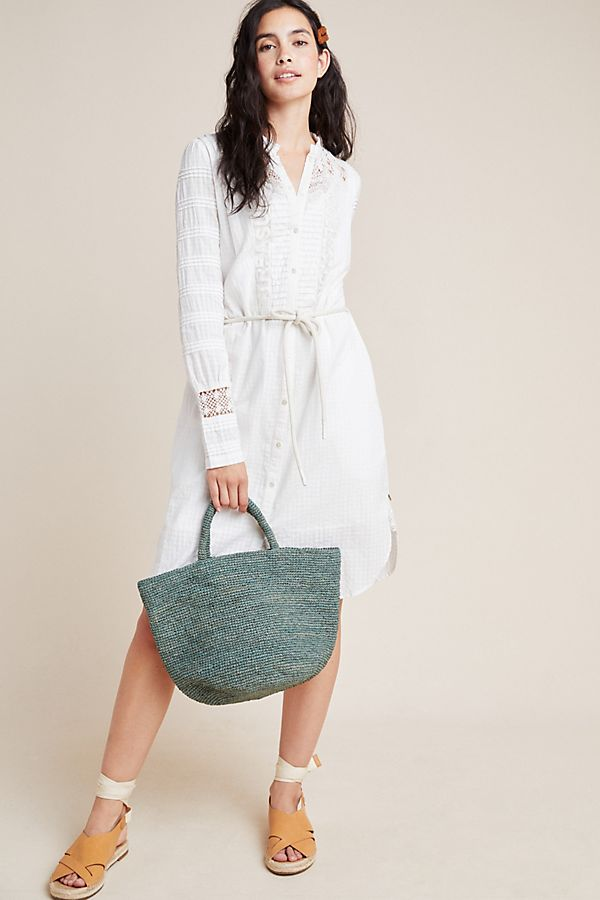 Slide View: 1: Scotch & Soda Lace Shirtdress