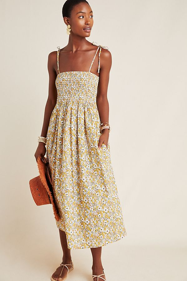 Slide View: 1: Frye x Anthropologie Alice Floral Maxi Dress