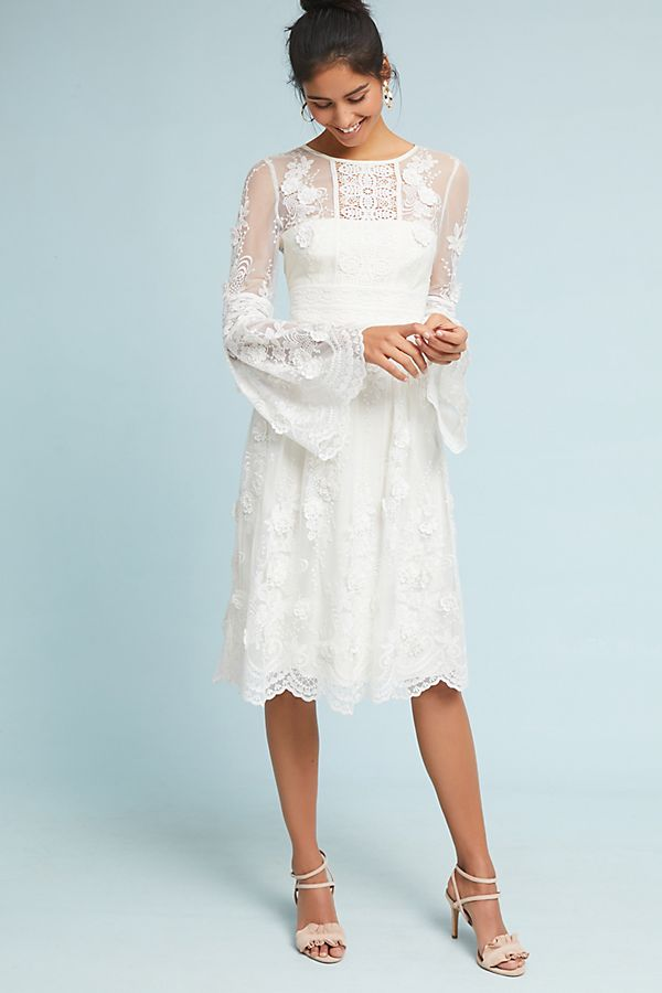 21897f7843e3 ML Monique Lhuillier Mixed Lace Dress | Anthropologie