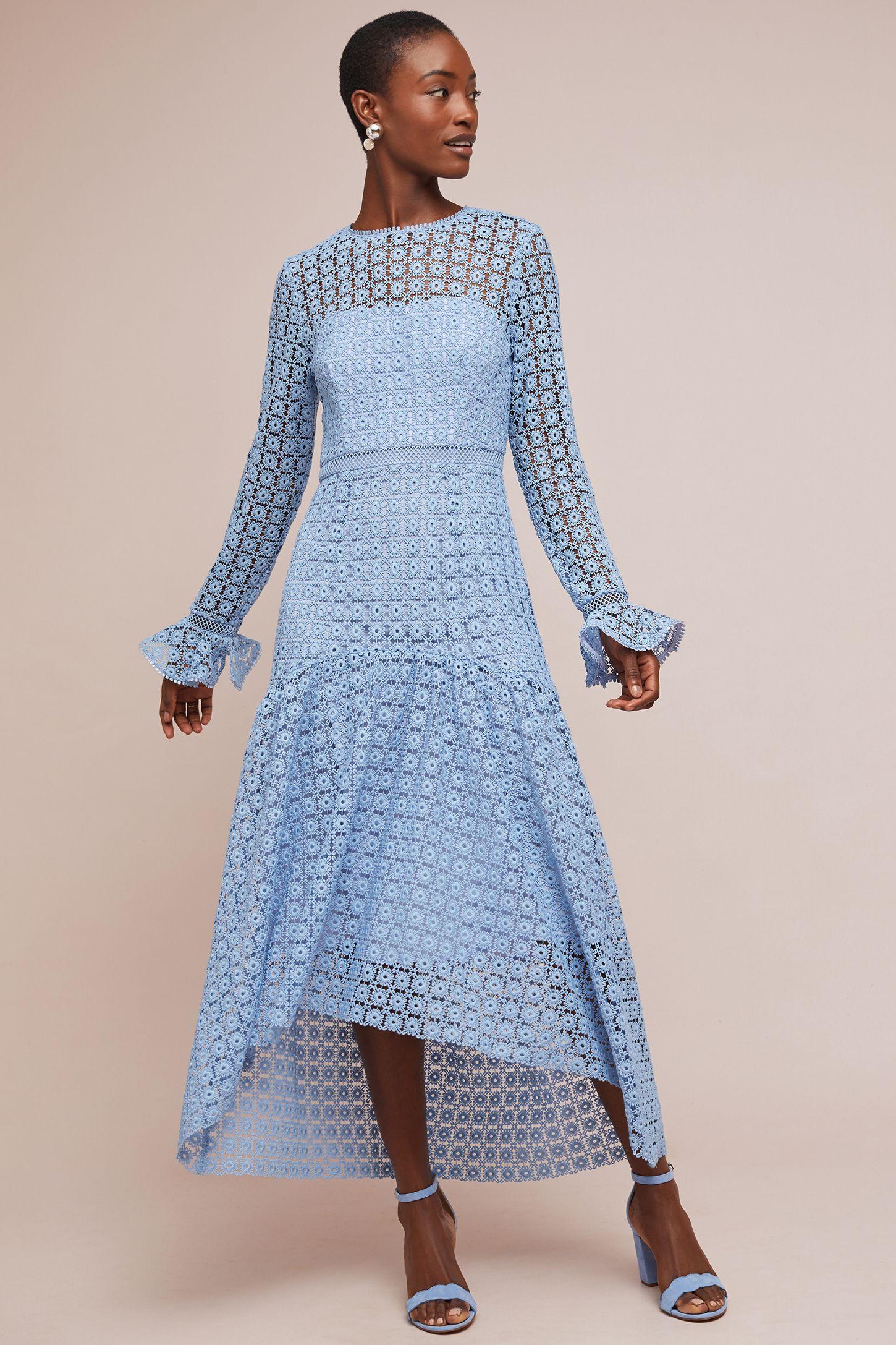 8f504008a3de8 ML Monique Lhuillier Claire Lace Dress   Anthropologie