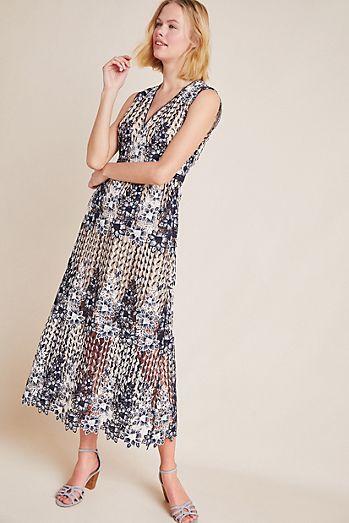 f48b6bac841 ML Monique Lhuillier Pigalle Lace Dress