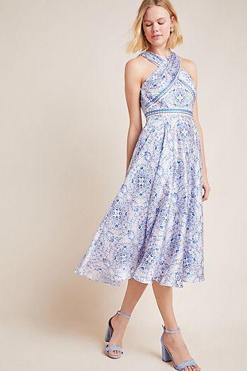 e4cca3cd526d ML Monique Lhuillier Melete Midi Dress