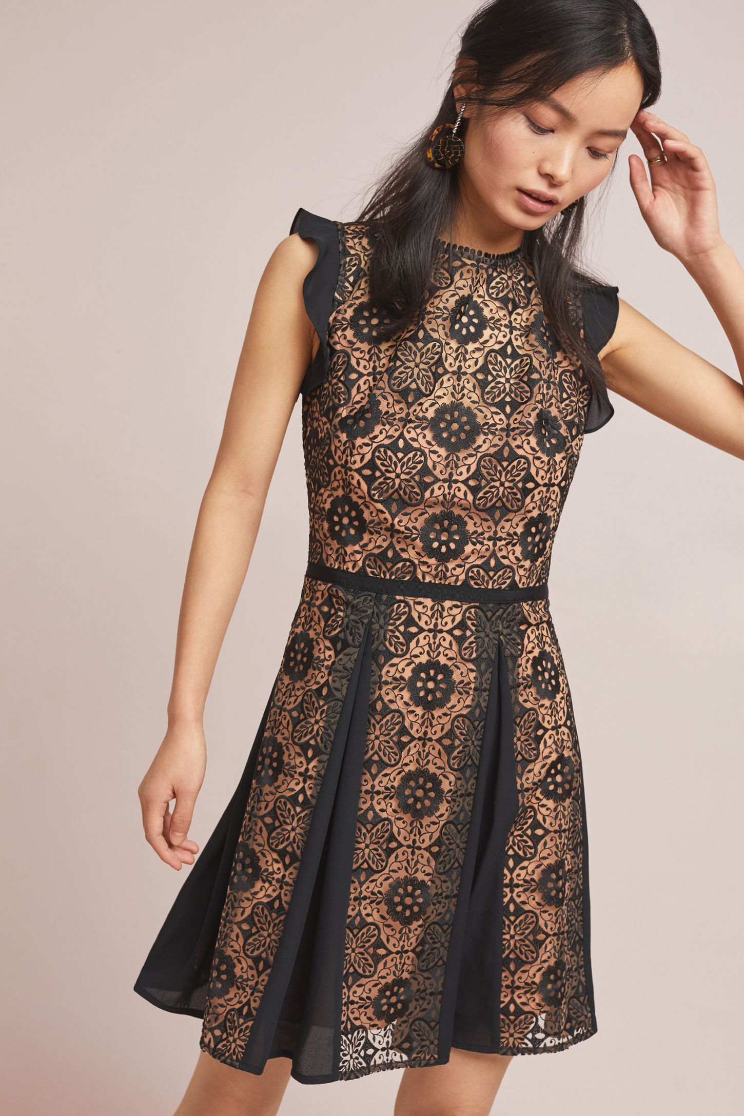 d87b8268c739 ML Monique Lhuillier Calypso Lace Dress | Anthropologie