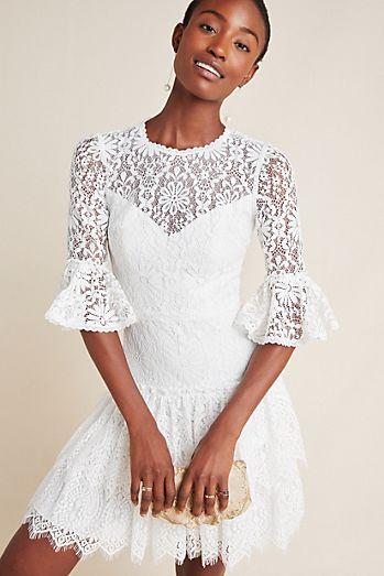 16ade7f76488 Ml Monique Lhuillier - Little White Dresses | Anthropologie