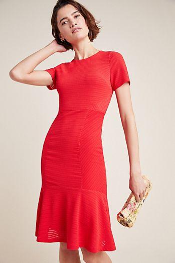 67bea94d2a1 Rowan Ribbed Knit Dress
