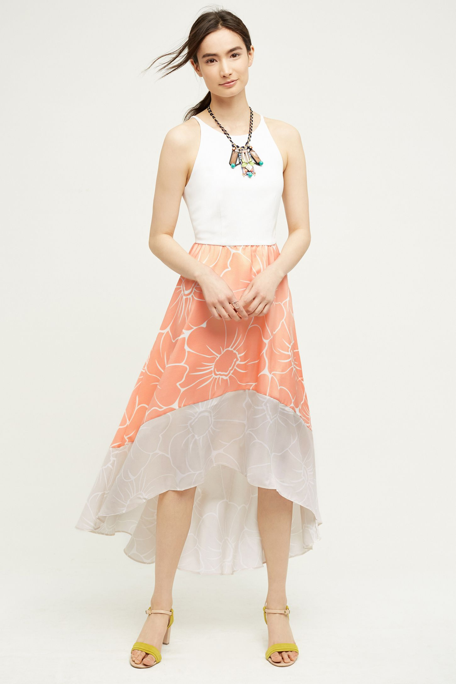 be03626bc881 Peachy High-Low Dress | Anthropologie