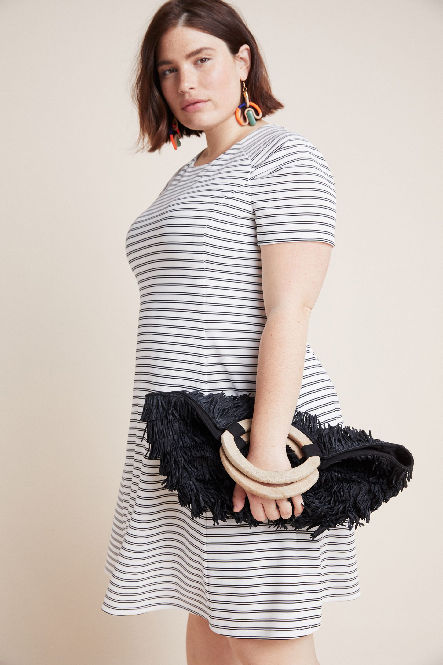 2e226476739 Slide View  8  Tess Striped Knit Dress