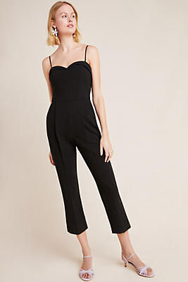 Slide View: 1: Black Halo Sweetheart Jumpsuit