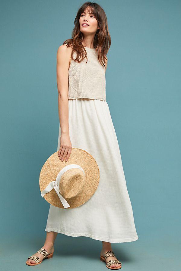 1af63b3e371 Layered-Jumper Maxi Dress
