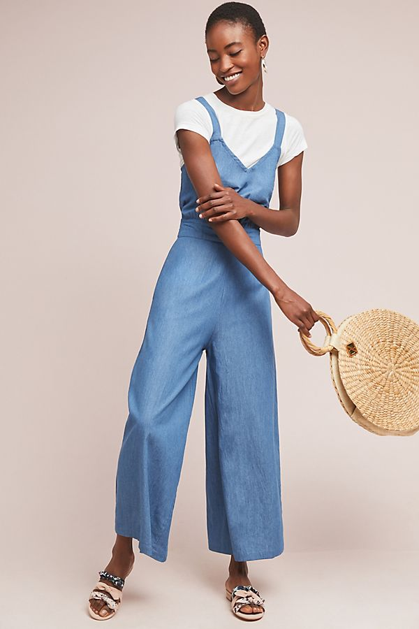 1c754a8c108 Daytripper Chambray Jumpsuit