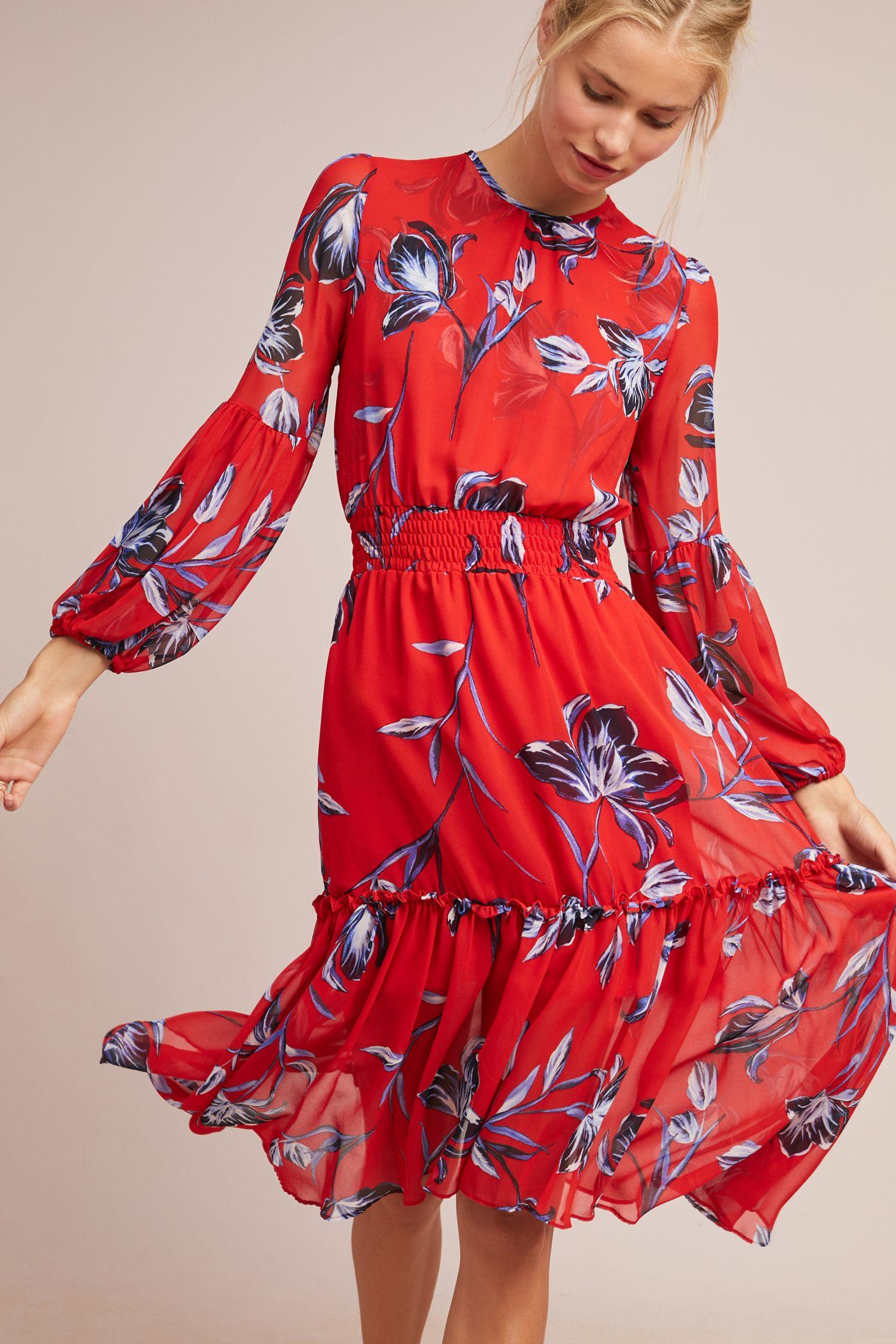894e566c6f2c Simone Floral Dress | Anthropologie