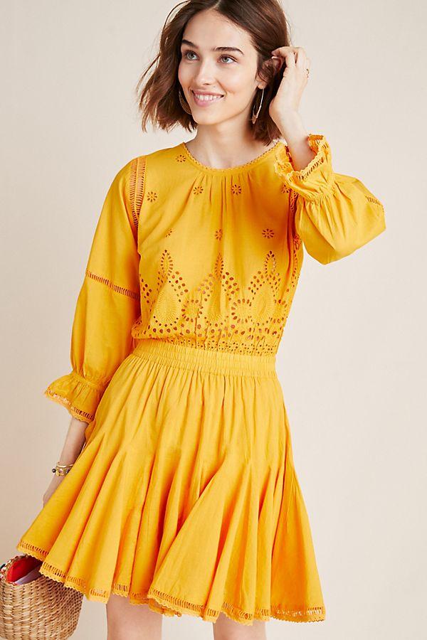 Slide View: 1: Sunny Eyelet Dress