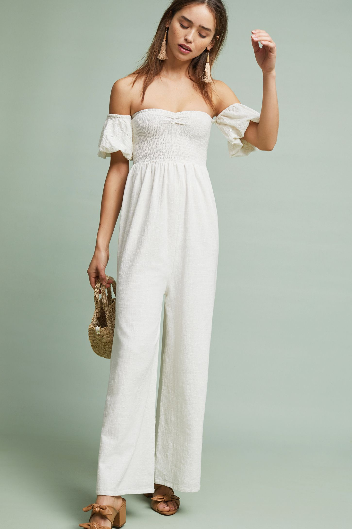 6c76d471b6 Off-The-Shoulder Sweetheart Jumpsuit