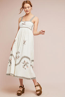 Barlett Embroidered Dress by Steele