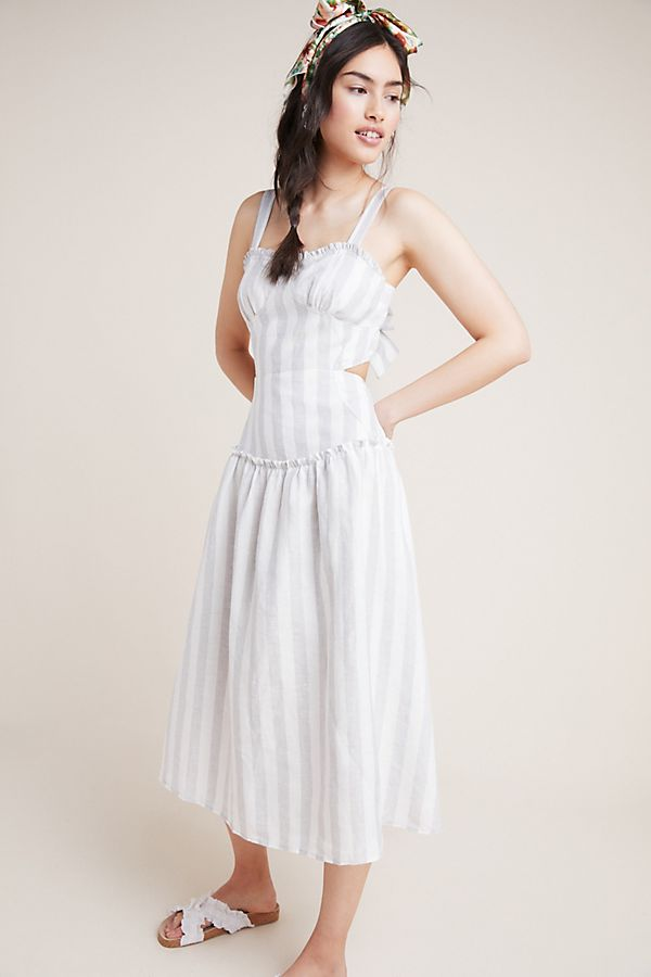 Slide View: 1: Pinones Striped Dress