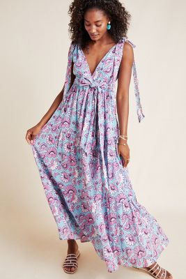 Carnation Maxi Dress by Banjanan