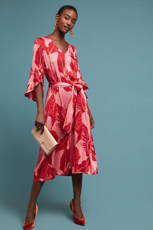 735b68685d Belted Palm Dress