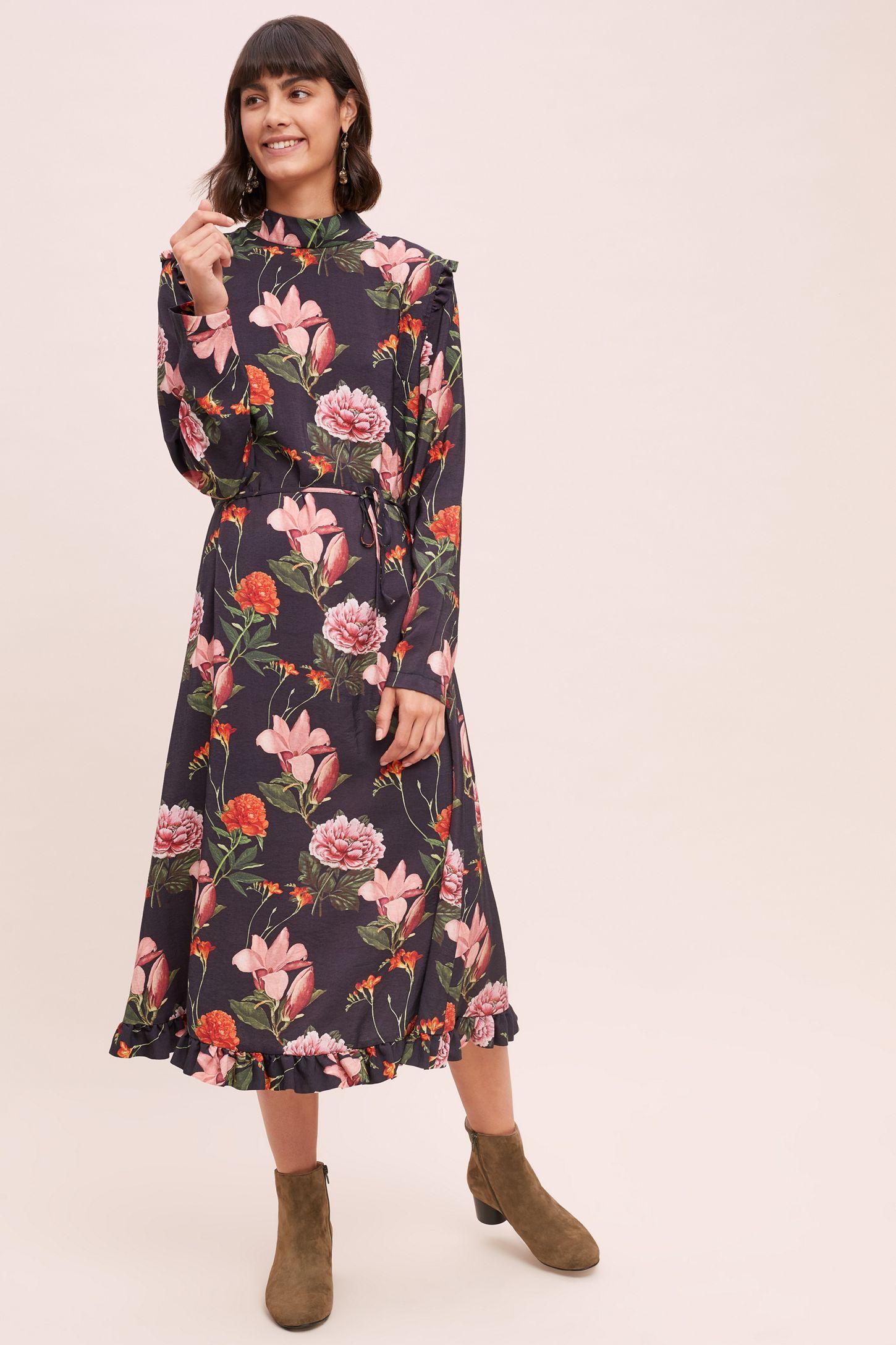 c42b25f2762 Margot Floral-Print Midi Dress