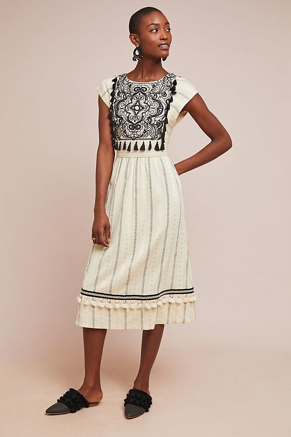 2d01ffef1c6a Anaya Embroidered Dress | Anthropologie