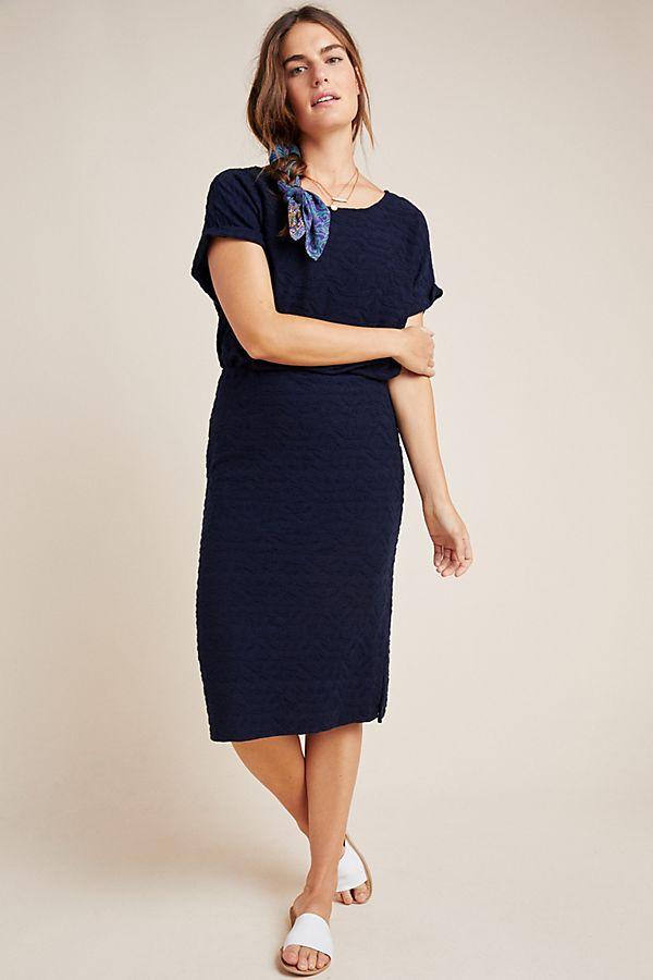 Slide View: 1: Louella Dolman-Sleeved Midi Dress