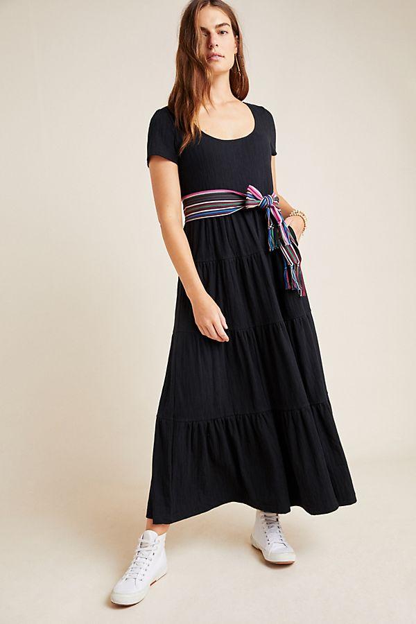 Slide View: 1: Gillian Tiered Maxi Dress
