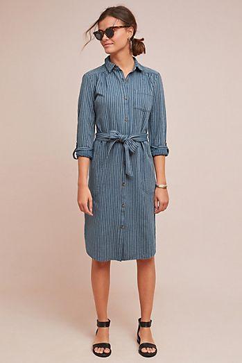 ab6df07353 Bellamy Striped Shirtdress