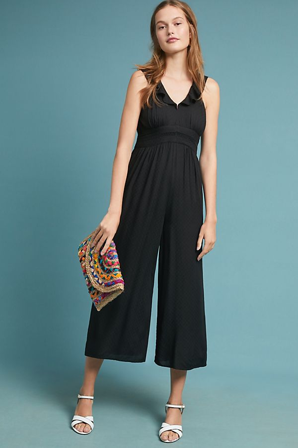 14e479fa64f4 Syros Ruffled Jumpsuit | Anthropologie