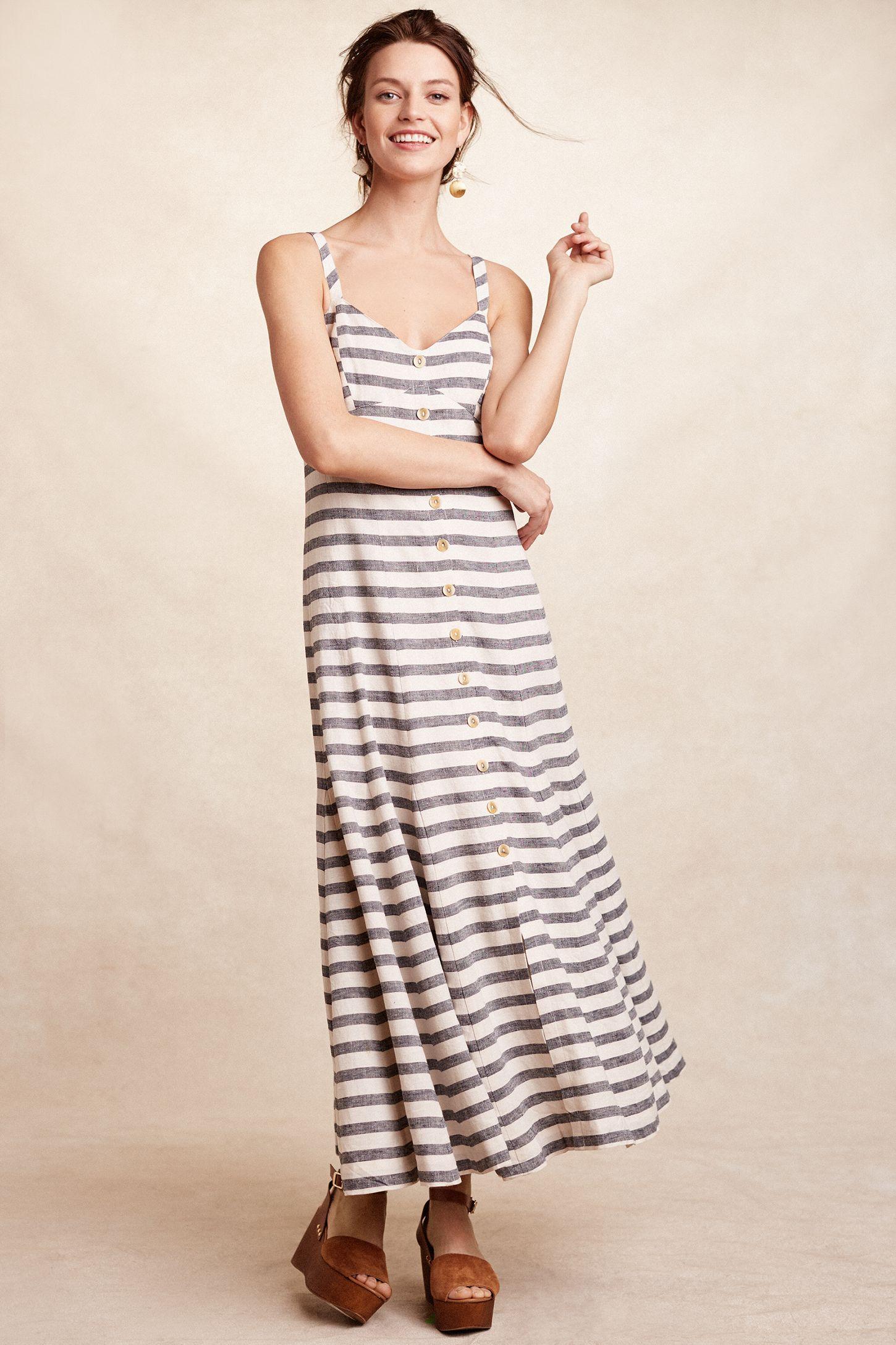 d5fcf868fcb90 Striped Maxi Dress | Anthropologie