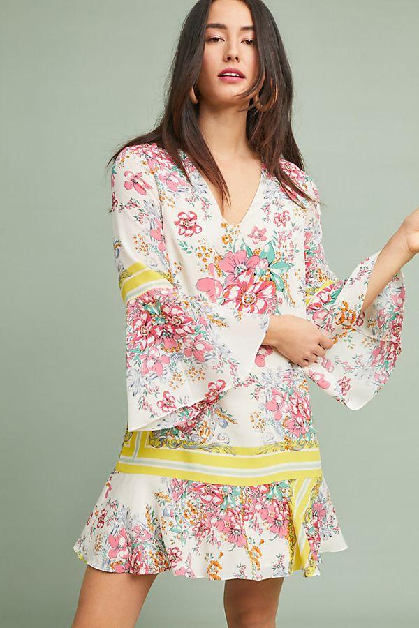 Alyn Silk Tunic Dress