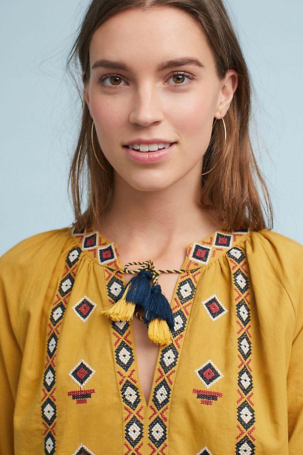 ef13b55fa7a Merida Embroidered Tunic Dress | Anthropologie
