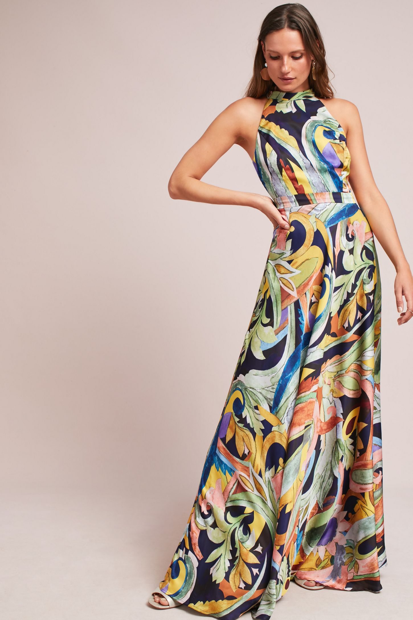 20df4cbf8af2 Skyscraper Maxi Dress | Anthropologie