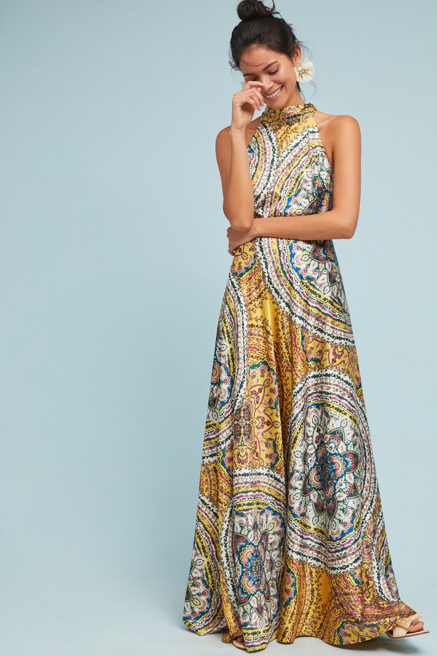 48bbc2ba86ad Paisley Maxi Dress | Anthropologie UK