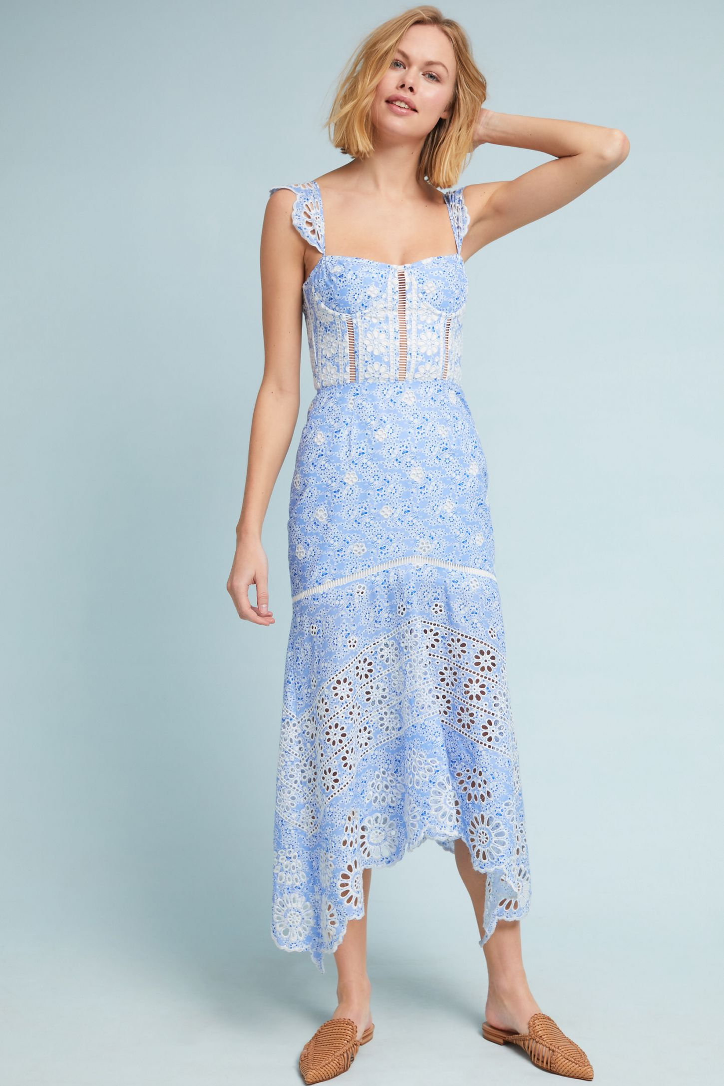 d610541373 Ivy Corseted Dress | Anthropologie