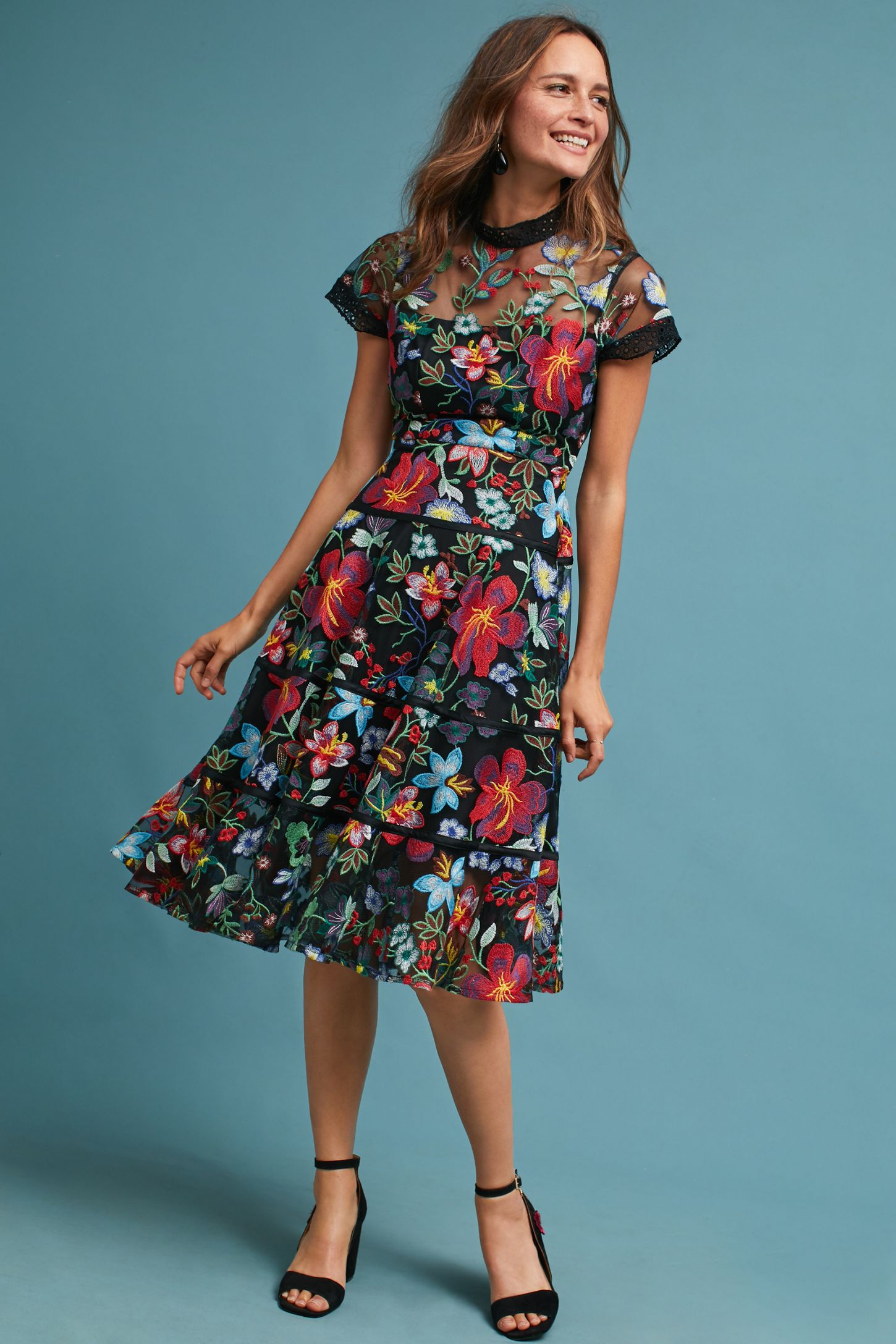 75ebcfca92c8 Janine Embroidered Dress | Anthropologie