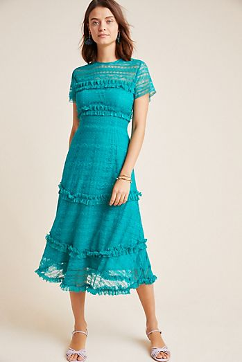 be722e22539 Dashing Lace Midi Dress