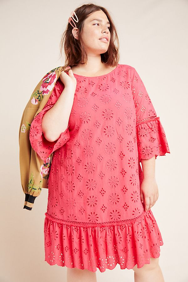 Dani Lace Tunic by Anthropologie