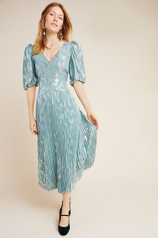 Slide View: 1: Rebecca Taylor Genevieve Maxi Dress
