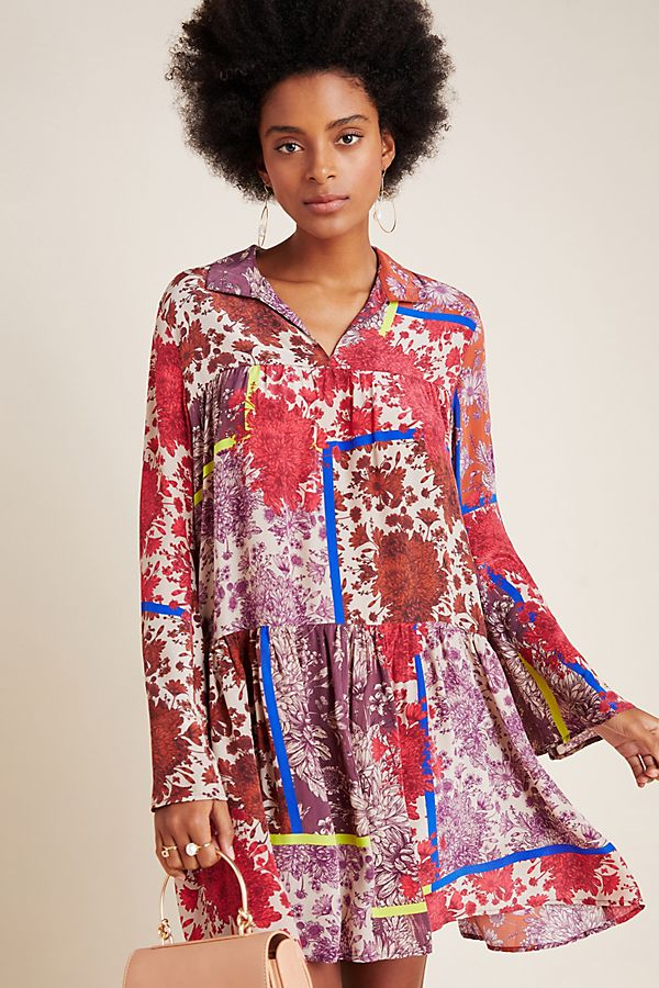 Slide View: 1: Arabella Patchwork Tunic
