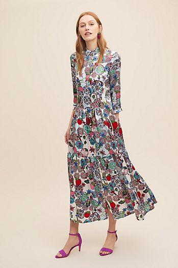 cd070aced4 Rock The Kashah Silk Shirt Dress