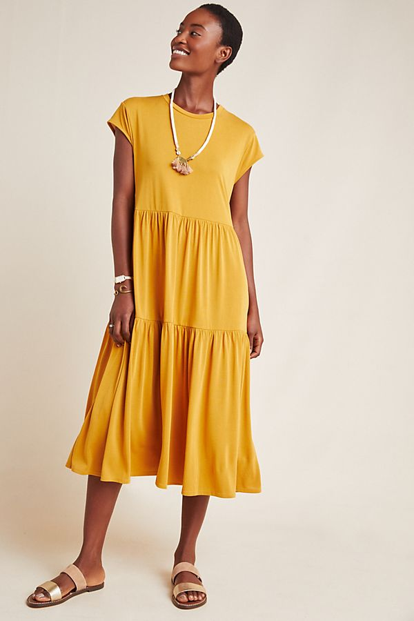 Slide View: 1: Sierra Knit Midi Dress
