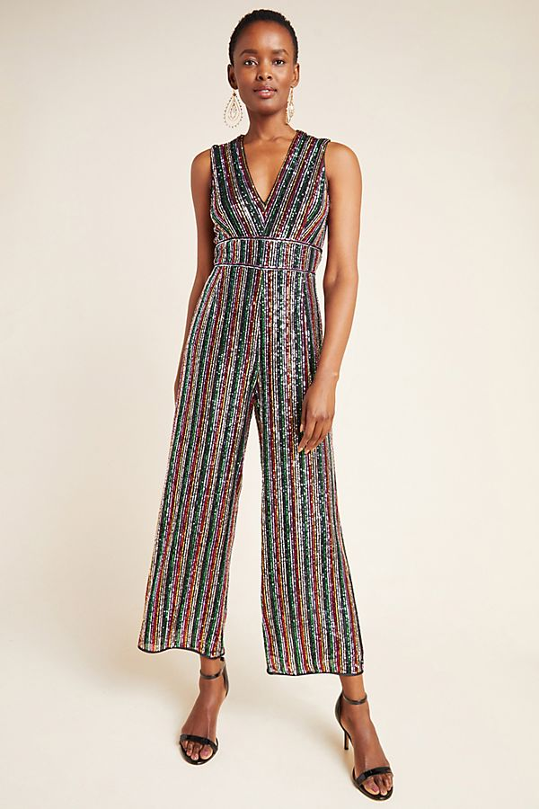 Slide View: 1: Winnipeg Sequined Jumpsuit