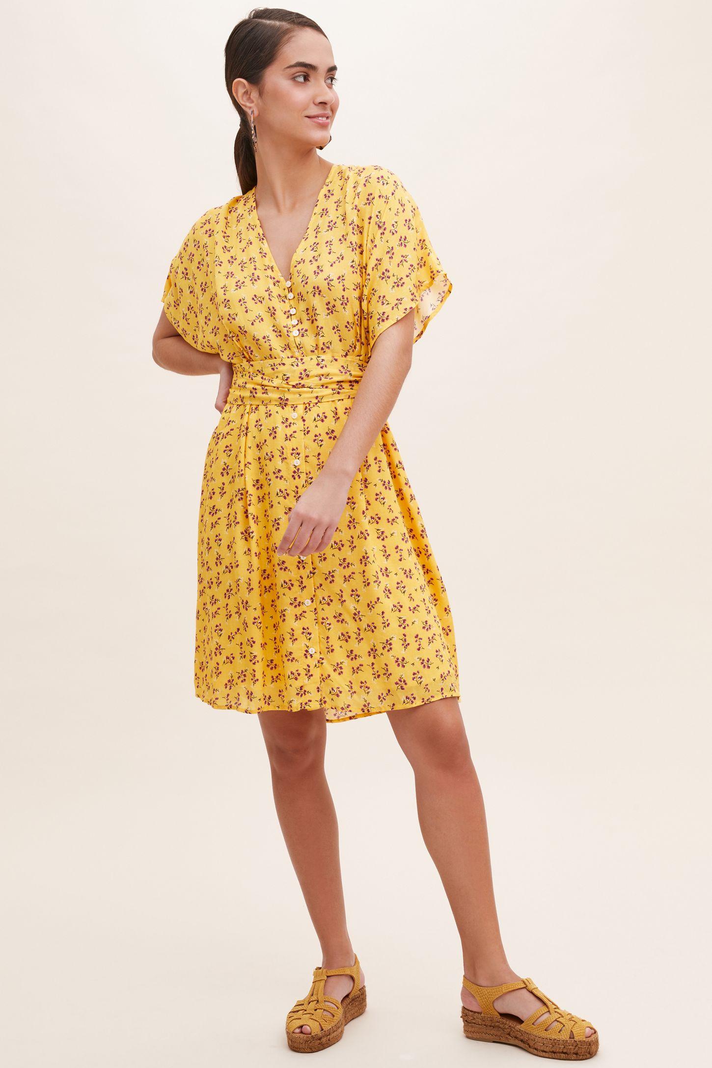 34ea9f78dd8116 Karen Floral-Print Dress | Anthropologie UK