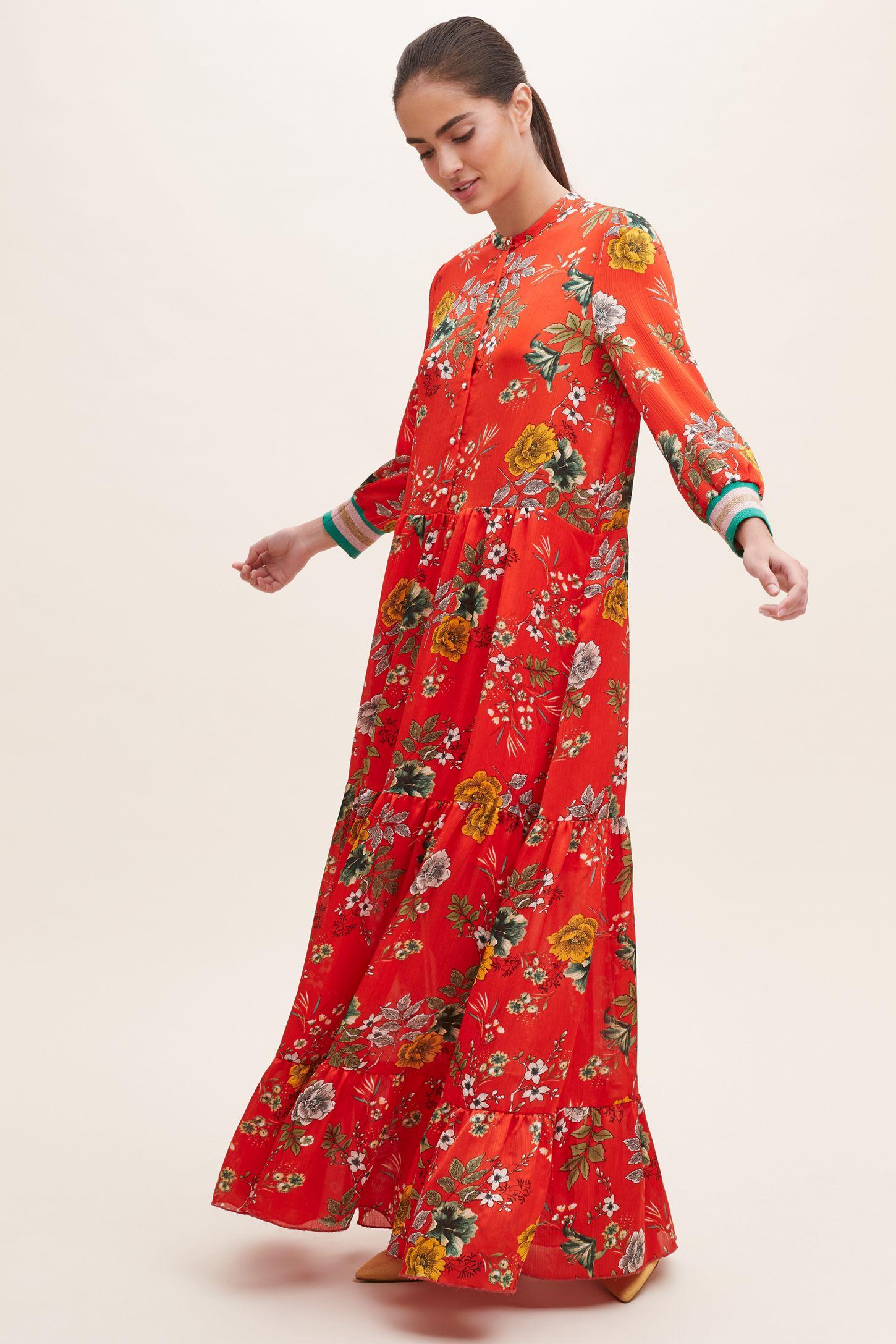 d18e111de27e8c Nee Floral-Print Maxi Dress | Anthropologie UK