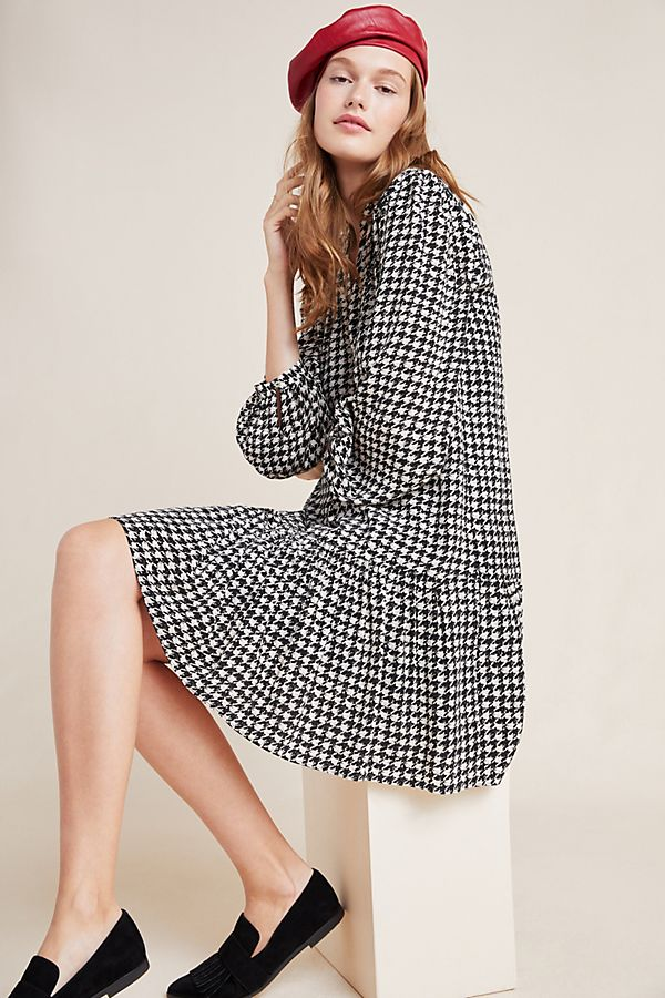 Slide View: 1: Sterling Houndstooth Tunic