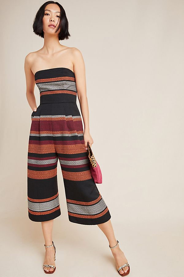 Slide View: 1: Corey Lynn Calter Nina Cropped Jumpsuit