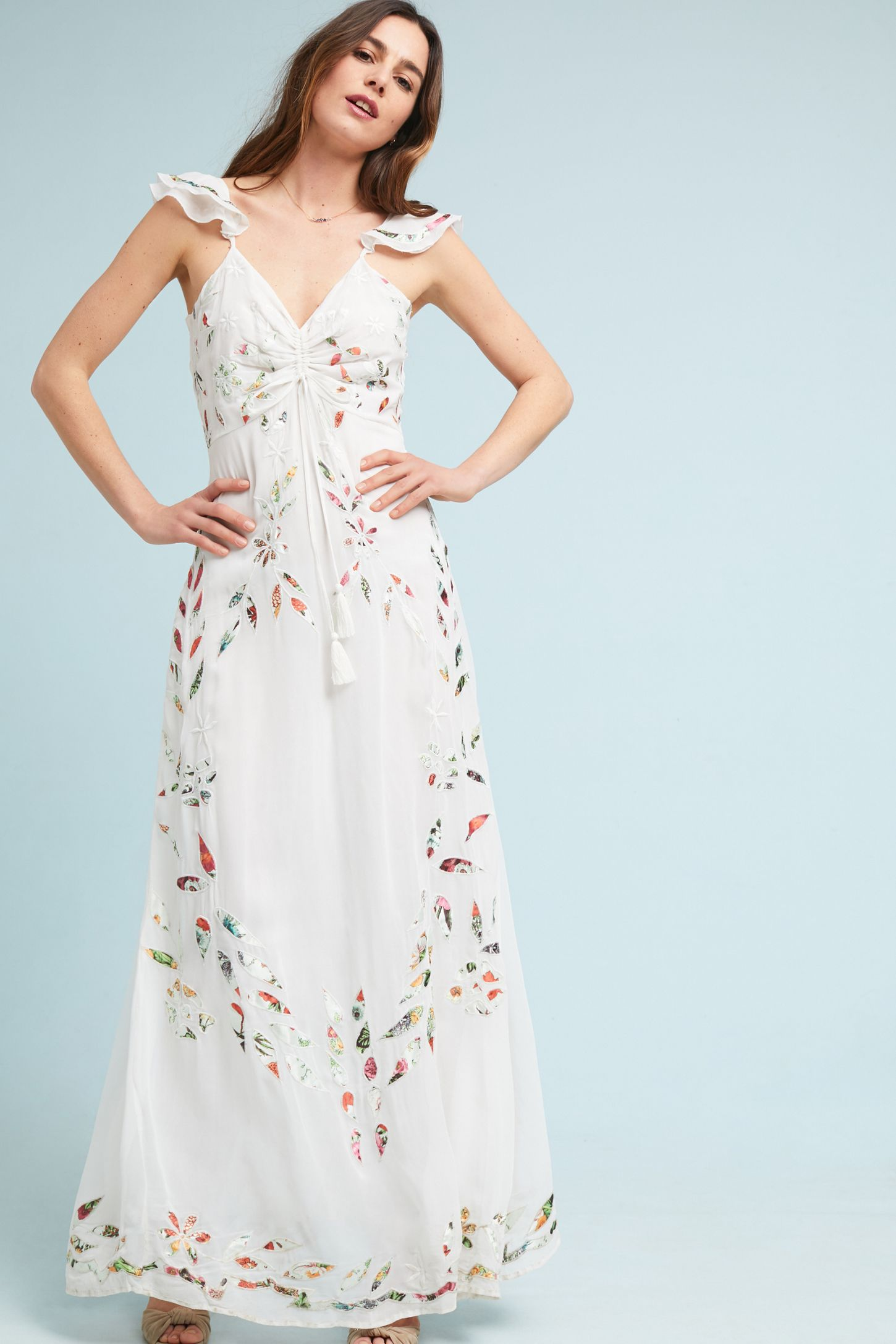 8d61922cdb139 Farm Rio Quintana Maxi Dress | Anthropologie UK