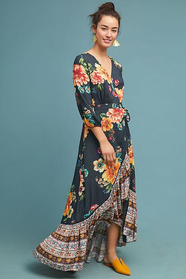 c52d74a64ad5 Farm Rio Majorca Wrap Dress