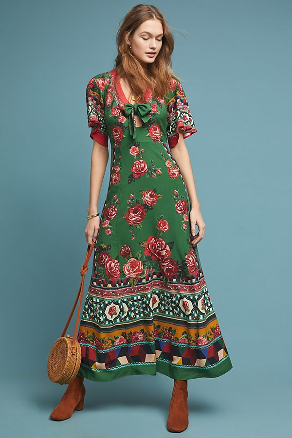 5a1a27797c8b Farm Rio Bolero Maxi Dress | Anthropologie
