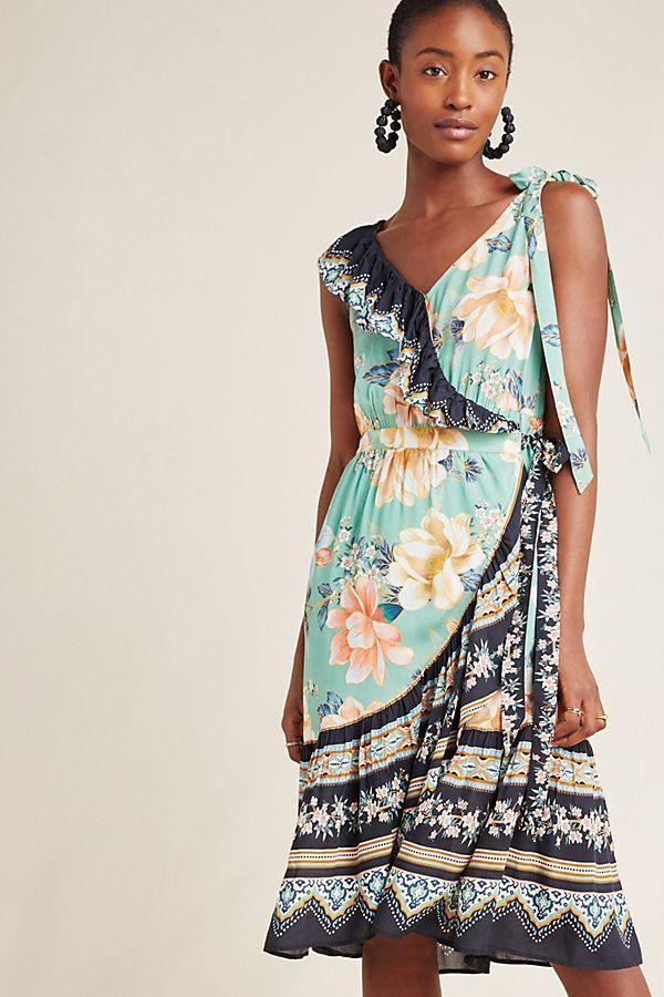 Slide View: 1: Farm Rio Monica Wrap Dress